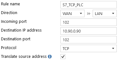 Configuration from network interface